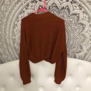 Brandy sweater!